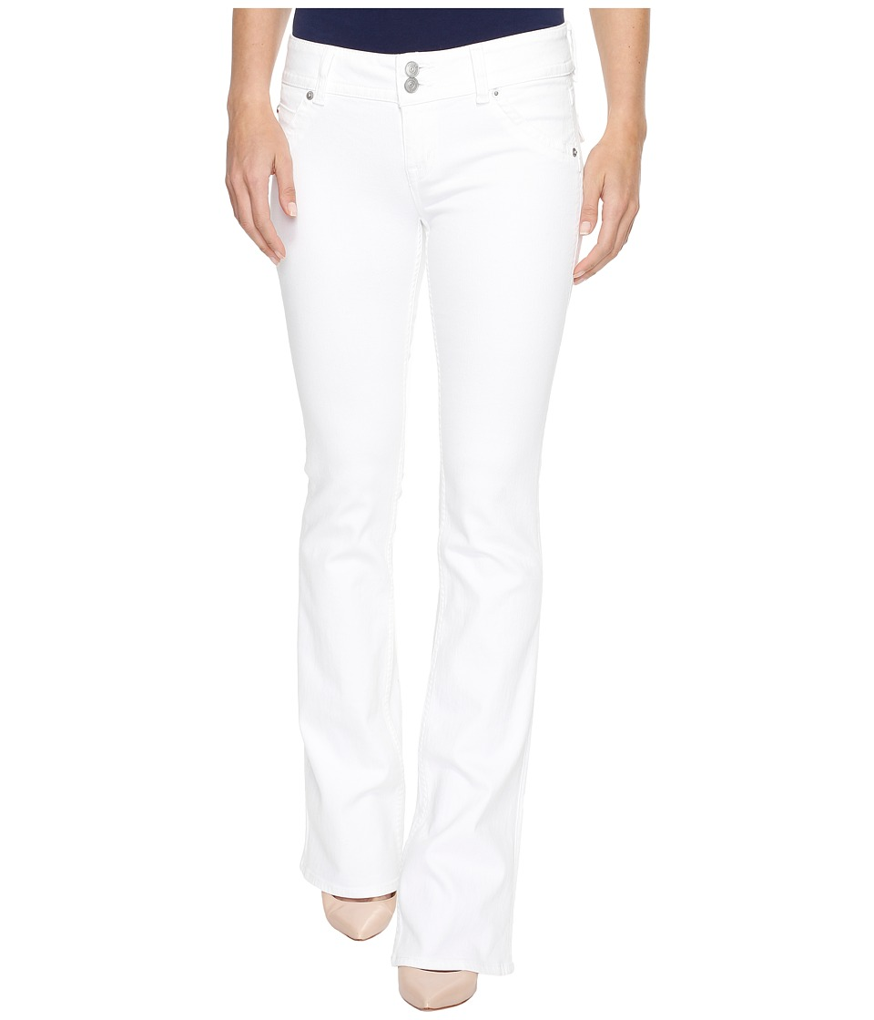 Hudson - Signature Bootcut Flap Pocket Jeans in White (White) Women's Jeans