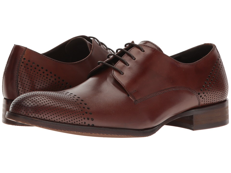 Kenneth Cole Reaction - True As St-Eel (Cognac) Men's Lace up casual Shoes