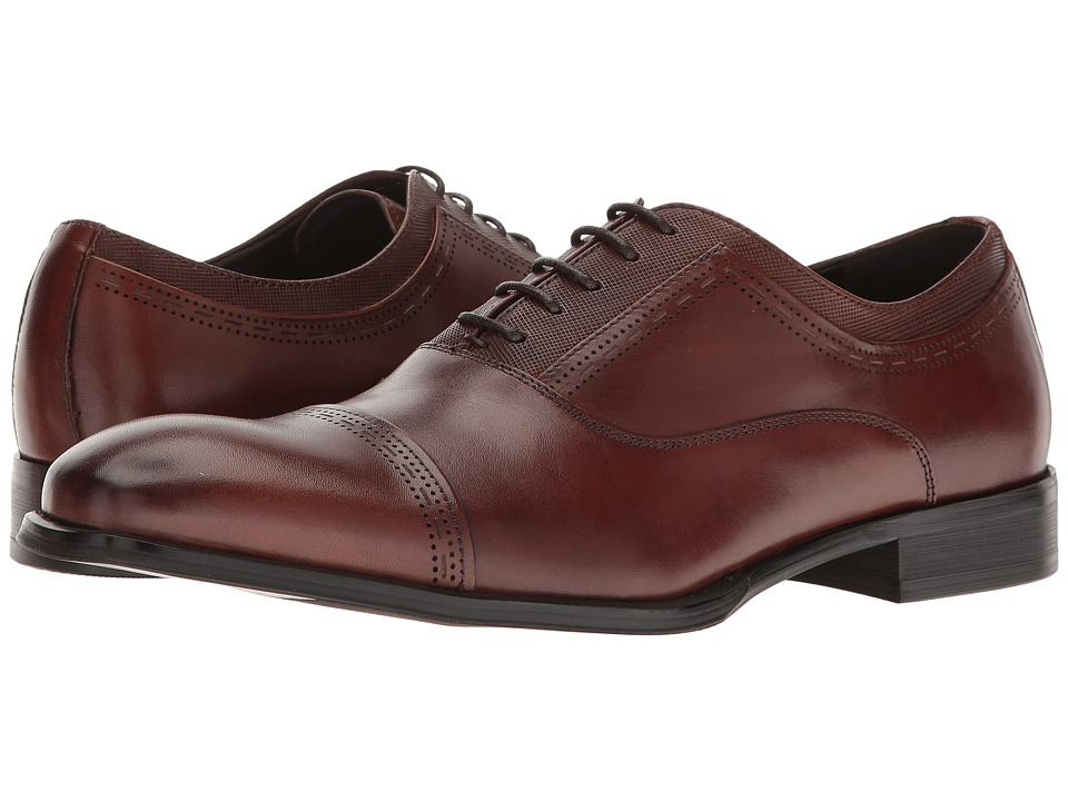 Kenneth Cole Reaction - Pull Over (Cognac) Men's Lace up casual Shoes
