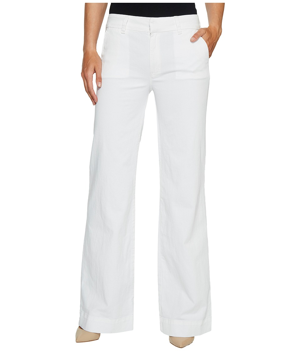 Hudson - Joplin Wide Leg Trousers in White (White) Women's Jeans