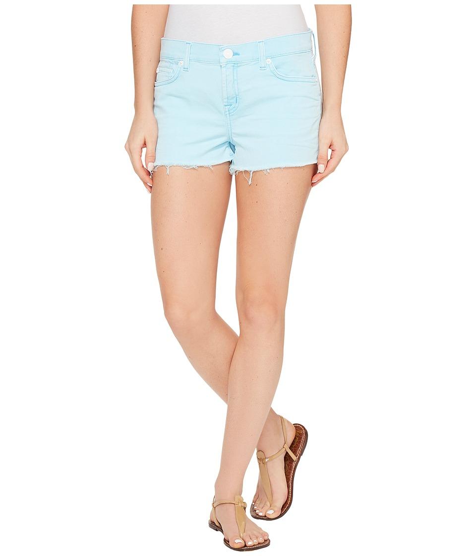 Hudson - Kenzie Cut Off Five-Pocket Shorts in Luminous Blue (Luminous Blue) Women's Shorts
