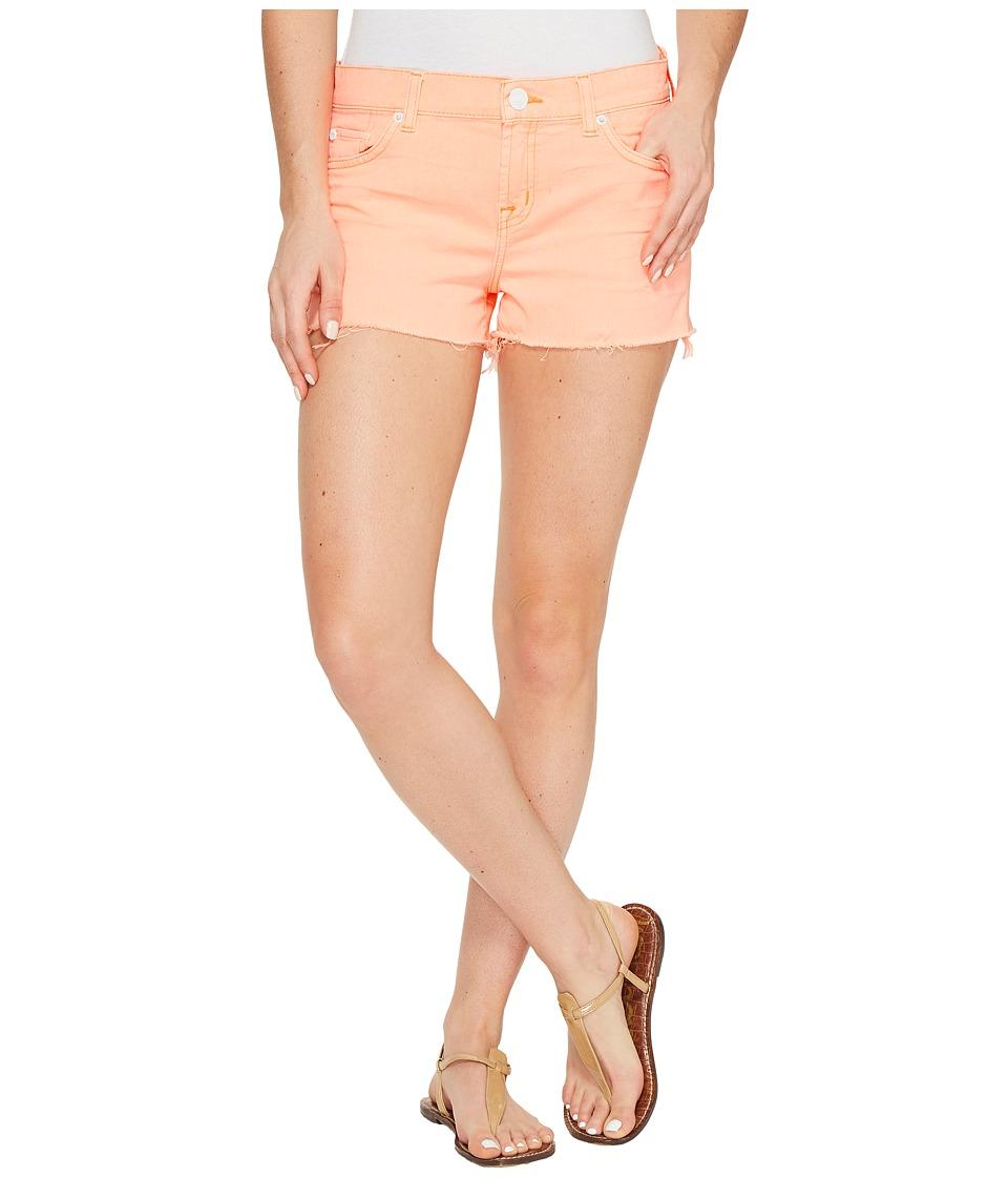 Hudson - Kenzie Cut Off Five-Pocket Shorts in Luminous Orange (Luminous Orange) Women's Shorts
