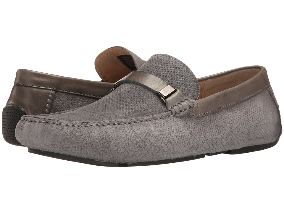 Kenneth Cole Reaction - Herd The Word (Grey) Men's Slip on Shoes