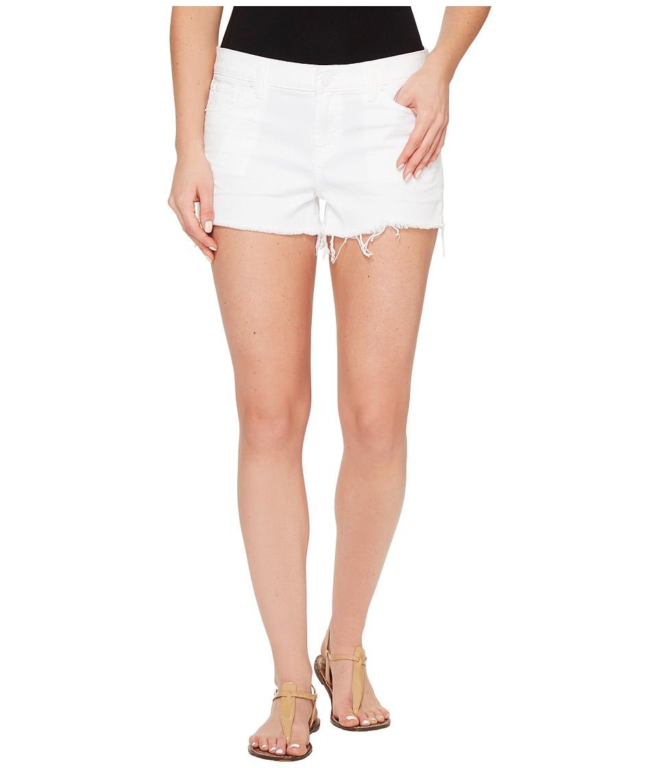 Hudson - Kenzie Cut Off Five-Pocket Shorts in White (White) Women's Shorts