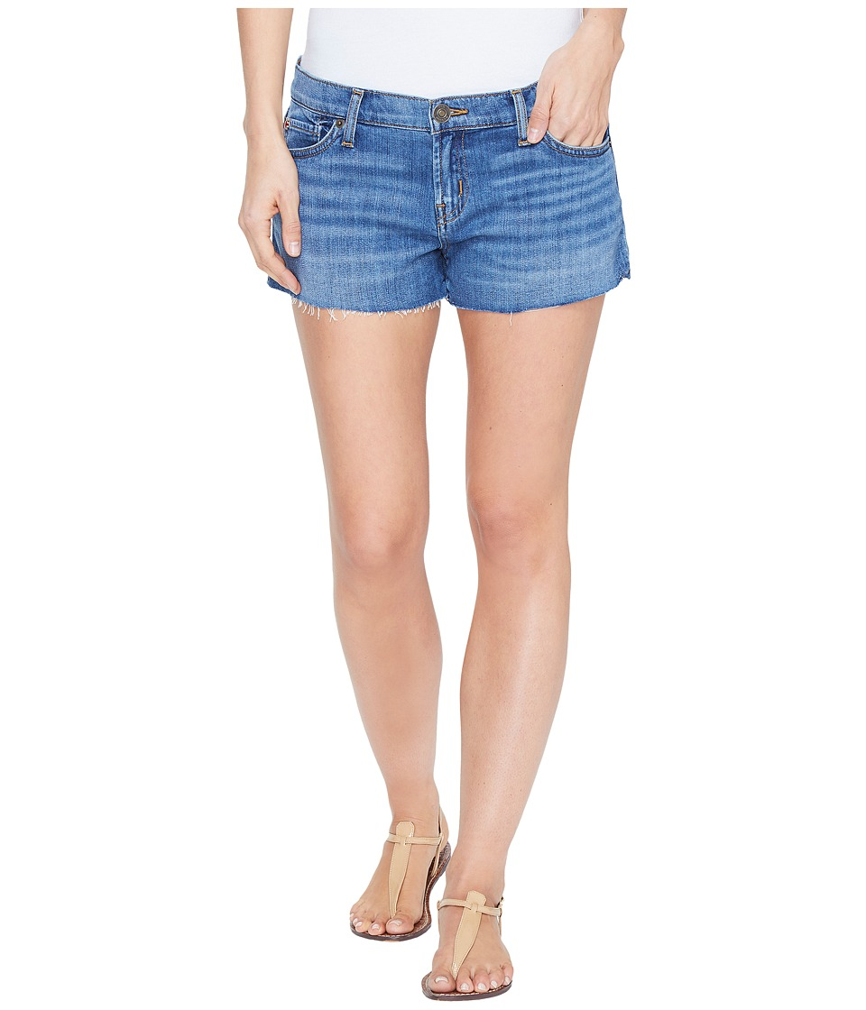 Hudson - Kenzie Cut Off Five-Pocket Shorts in Undefeated (Undefeated) Women's Shorts