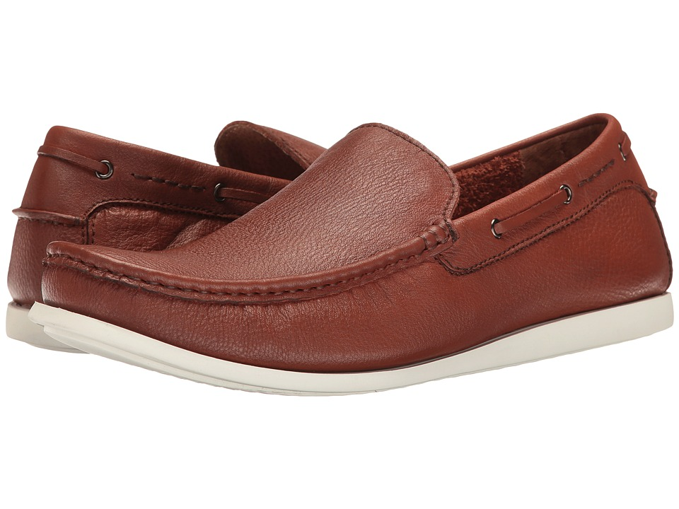 Kenneth Cole Reaction - Pot-Luck (Cognac) Men's Slip on Shoes