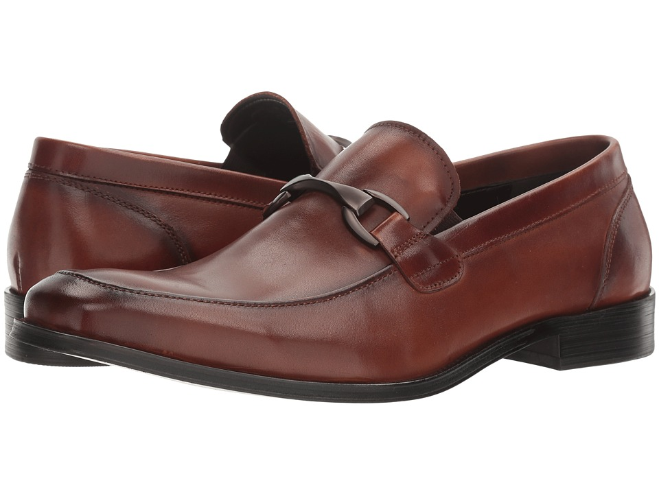 Kenneth Cole Reaction - Rest Is History (Cognac) Men's Slip on Shoes