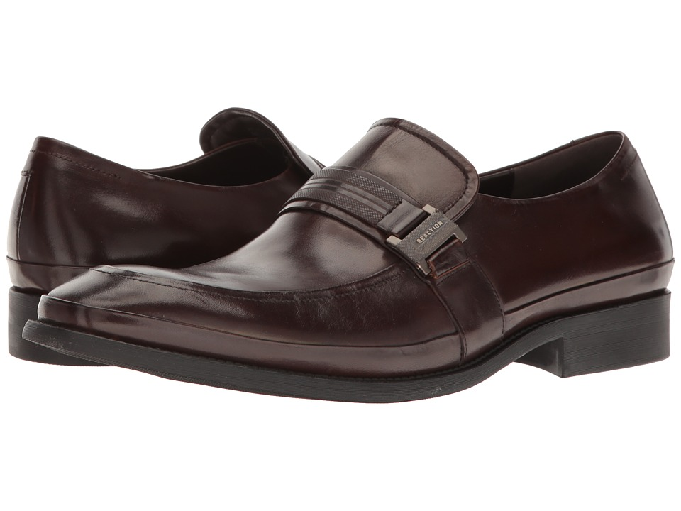 Kenneth Cole Reaction - Hit The Brick (Brown) Men's Slip on Shoes