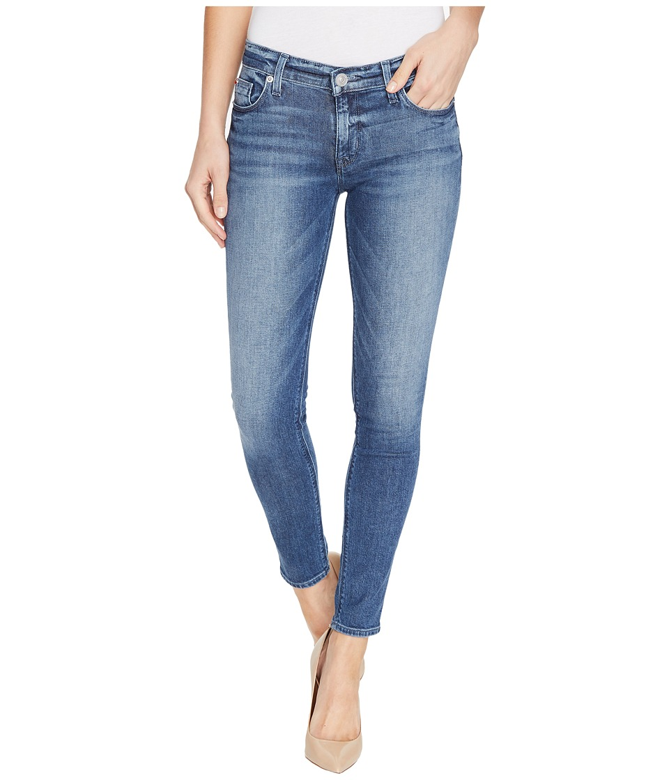 Hudson Krista Ankle Super Skinny Five-Pocket Jeans in Reigning (Reigning) Women