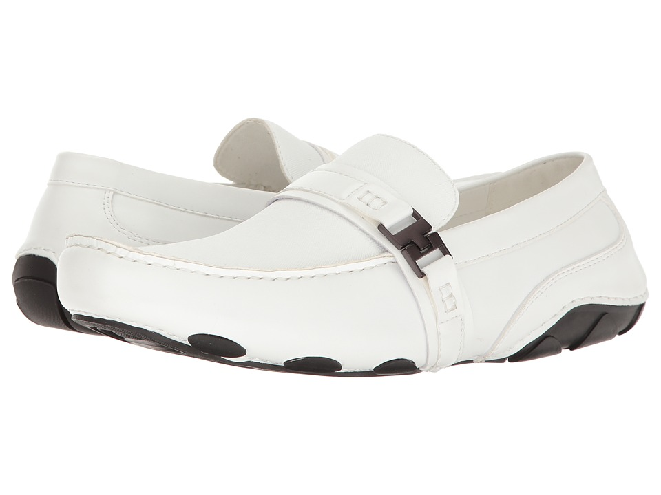 Kenneth Cole Reaction - Toast 2 Me (White) Men's Slip on Shoes