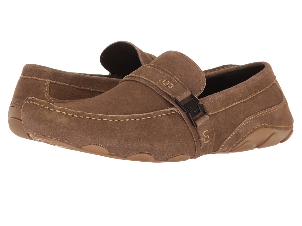 Kenneth Cole Reaction - Toast 2 Me (Taupe) Men's Slip on Shoes
