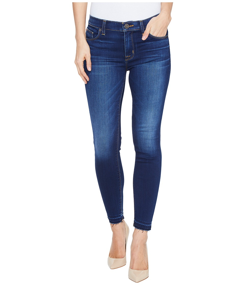 Hudson - Nico Mid-Rise Crop Skinny with Released Hem Five-Pocket Jeans in Newcomer (Newcomer) Women's Jeans