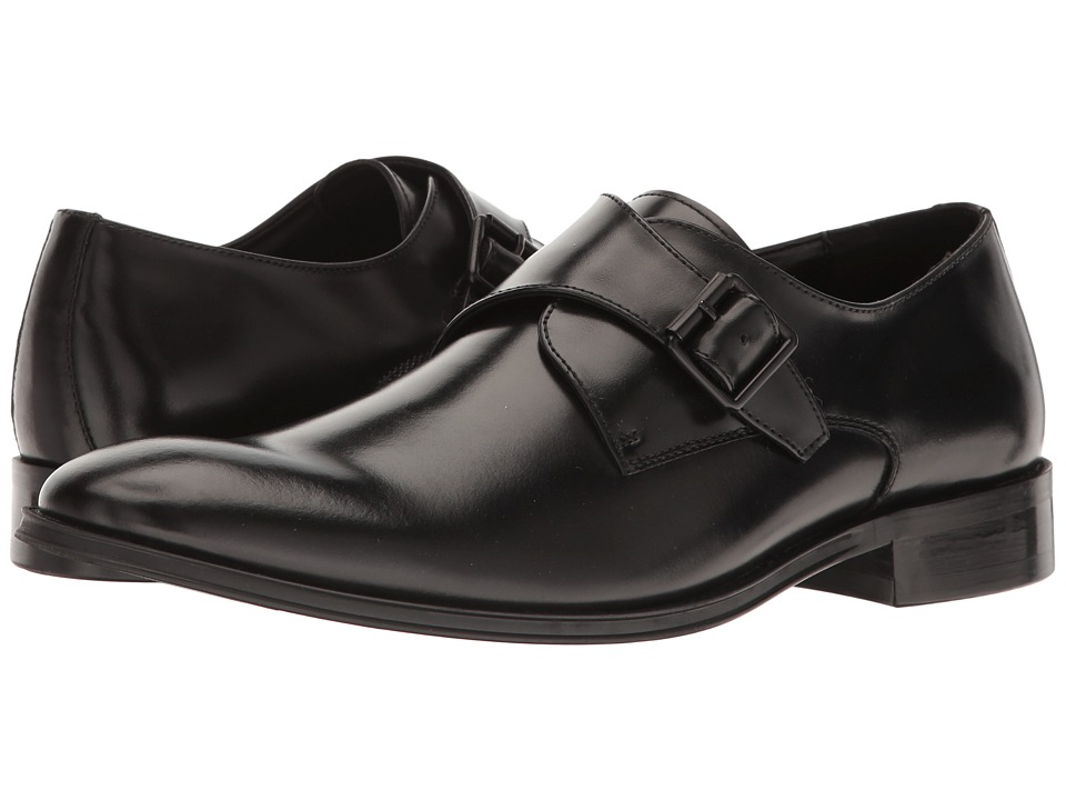 Kenneth Cole Reaction - Sit-Up (Black) Men's Slip on Shoes