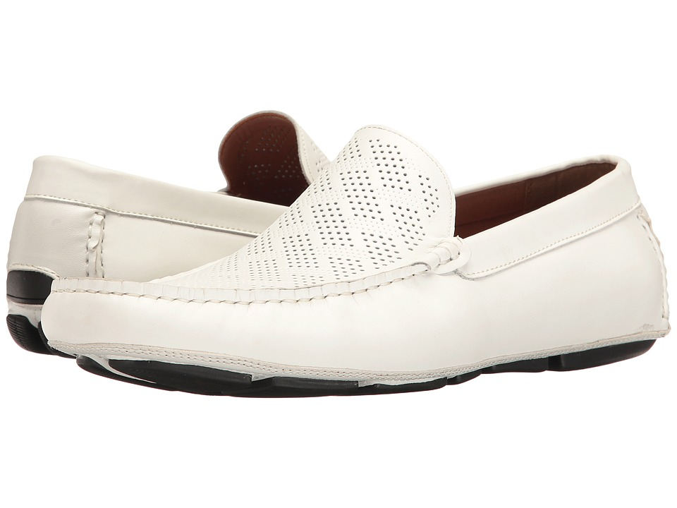 Kenneth Cole Reaction - Status Symbol (White) Men's Slip on Shoes