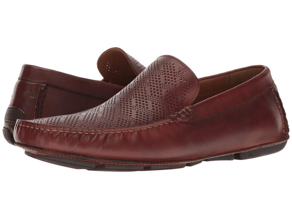 Kenneth Cole Reaction - Status Symbol (Cognac) Men's Slip on Shoes