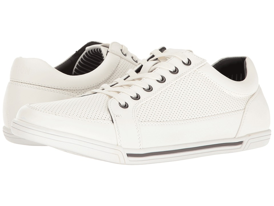 Kenneth Cole Reaction - Short Story (White) Men's Lace up casual Shoes