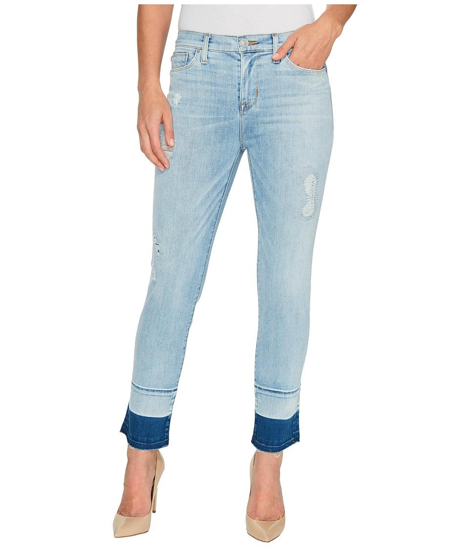 Hudson - Zooey Mid-Rise Crop Straight with Released Hem Five-Pocket Jeans in Side Hussel (Side Hussel) Women's Jeans