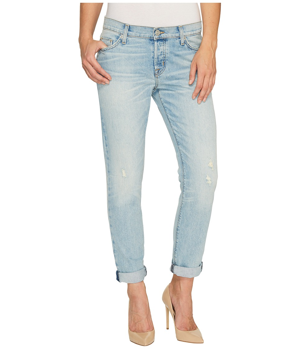 Hudson - Riley Crop Relaxed Straight in Heavy Hitter (Heavy Hitter) Women's Jeans