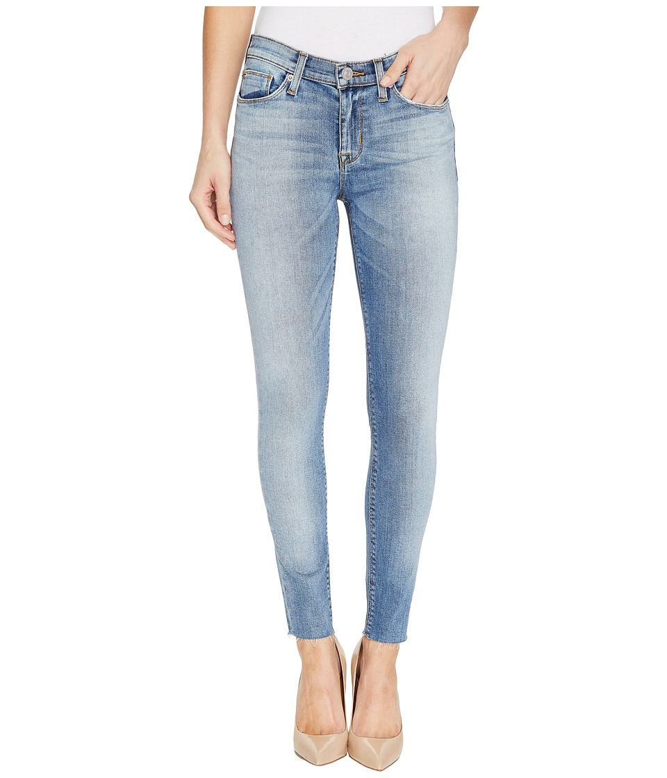 Hudson - Nico Mid-Rise Ankle Raw Hem Super Skinny Five-Pocket Jeans in Ambitions (Ambitions) Women's Jeans