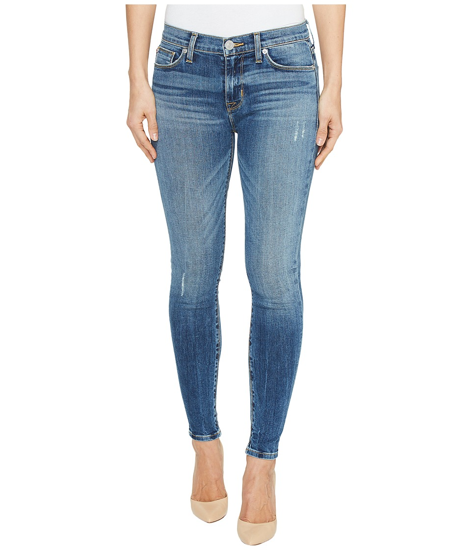 Hudson Nico Mid-Rise Ankle Super Skinny Five-Pocket Jeans in Lifeline (Lifeline) Women