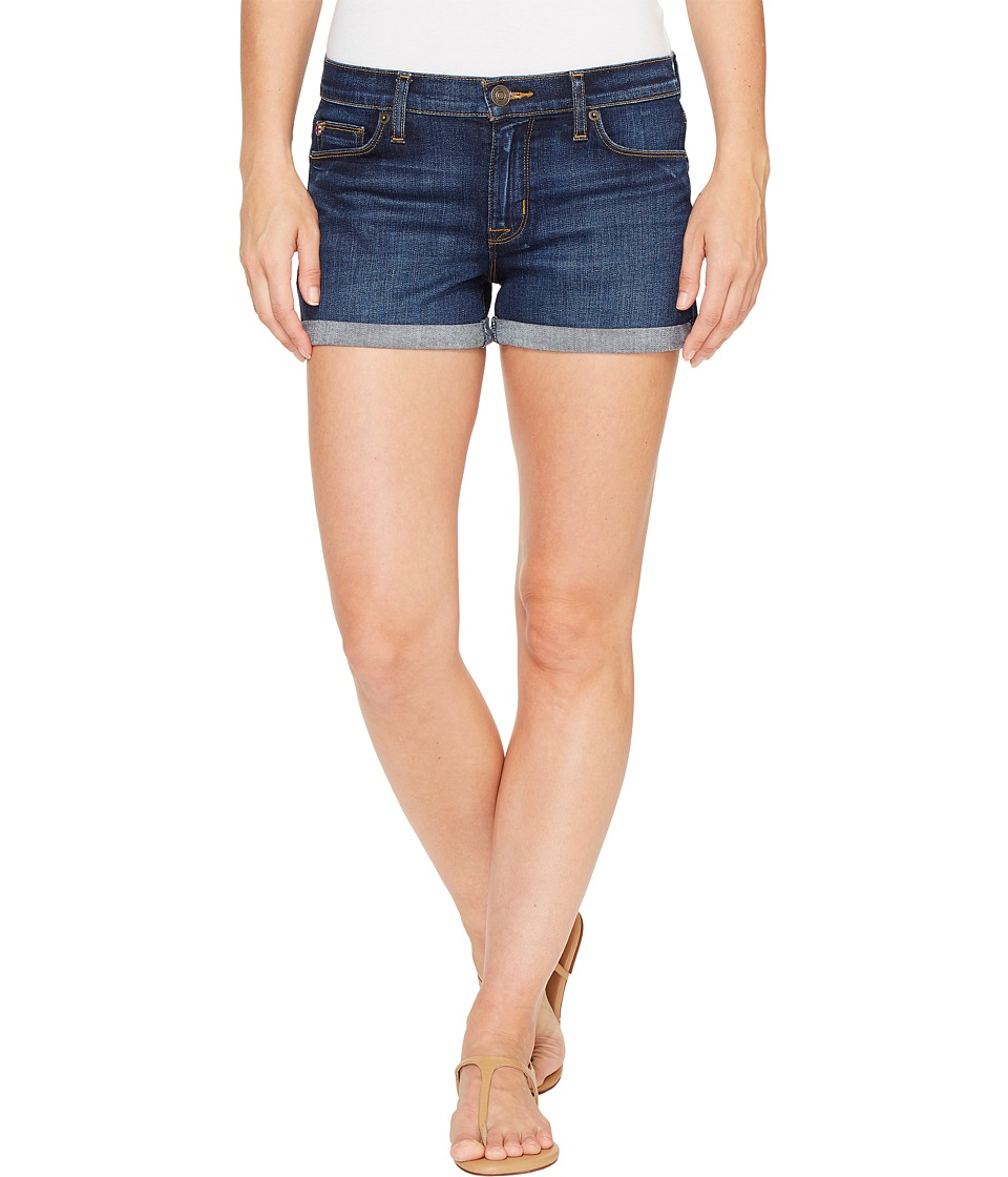 Hudson - Asha Mid-Rise Cuffed Five-Pocket Shorts in Patrol Unit 2 (Patrol Unit 2) Women's Shorts