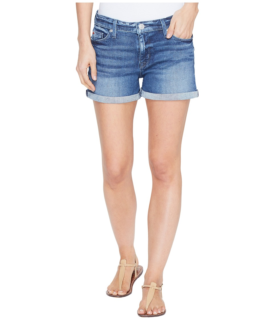 Hudson - Asha Mid-Rise Cuffed Five-Pocket Shorts in Reigning (Reigning) Women's Shorts