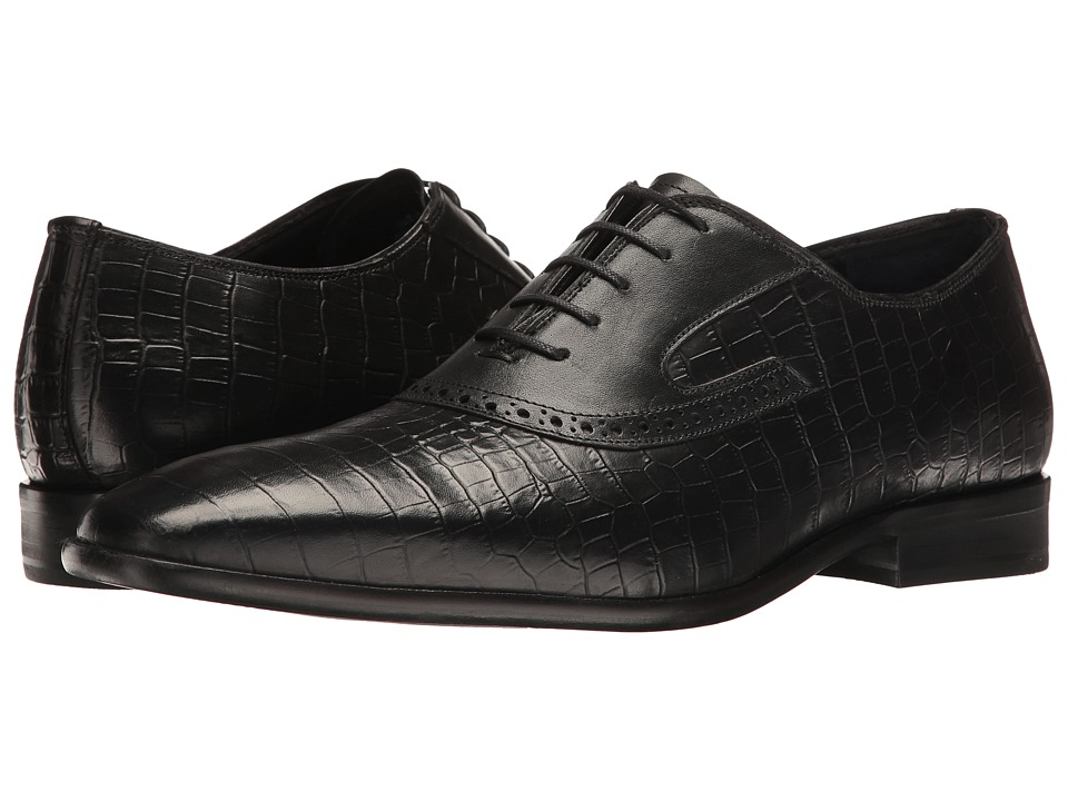 Messico - Nester (Black Croco Leather) Men's Shoes