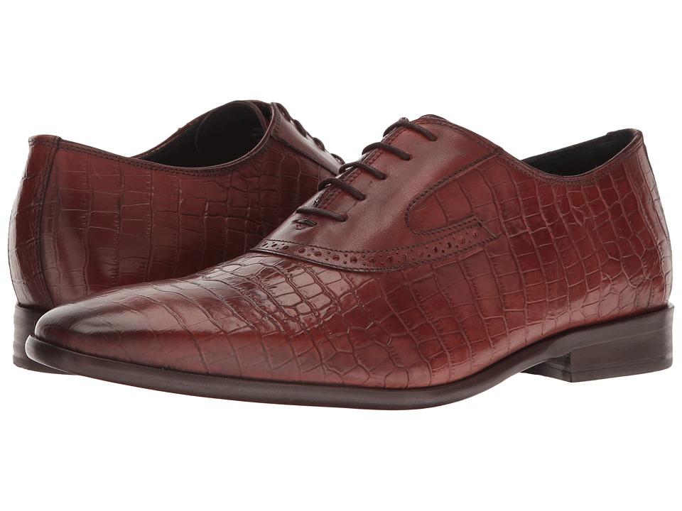 Messico - Nester (Cognac Croco Leather) Men's Shoes