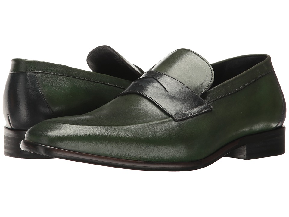 Messico - Orozco (Green/Navy Leather) Men's Shoes