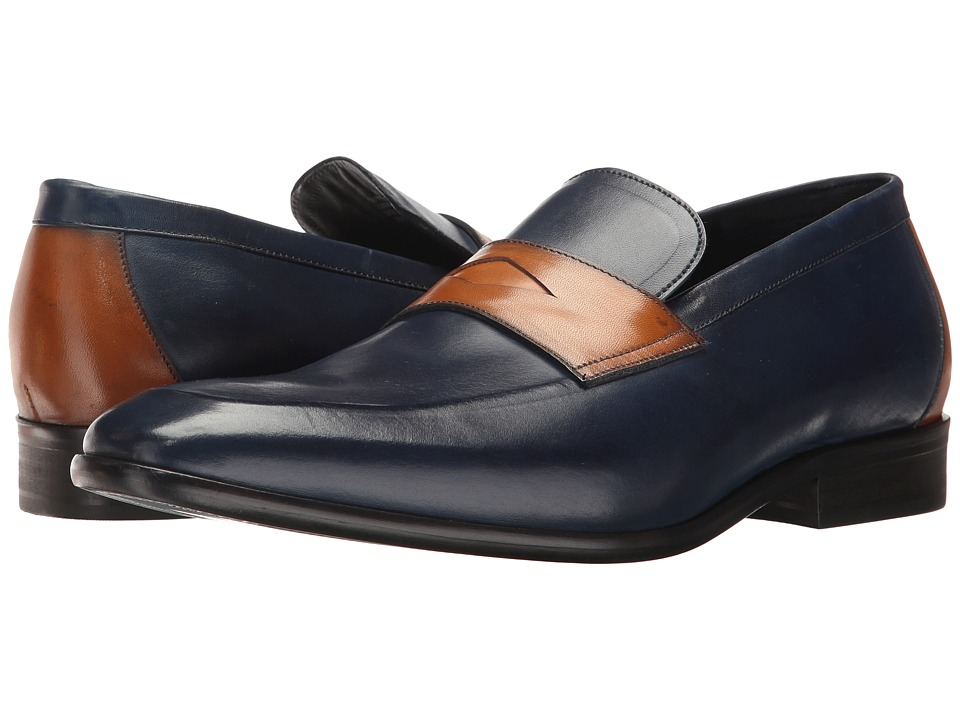Messico - Orozco (Navy/Honey Leather) Men's Shoes