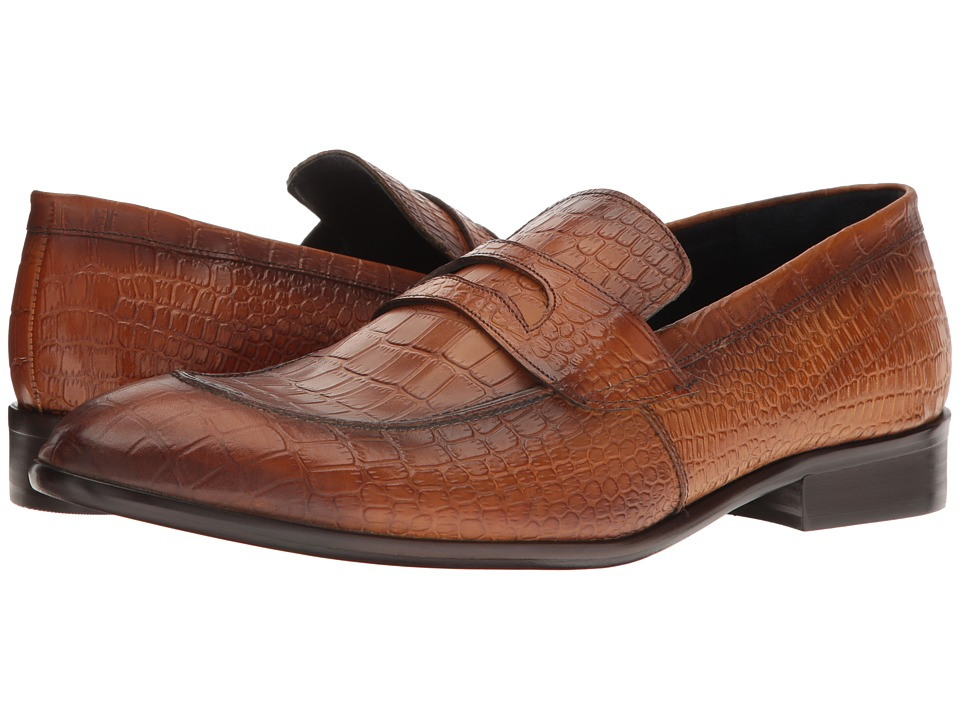 Messico - Pastor (Honey Croco Leather) Men's Shoes