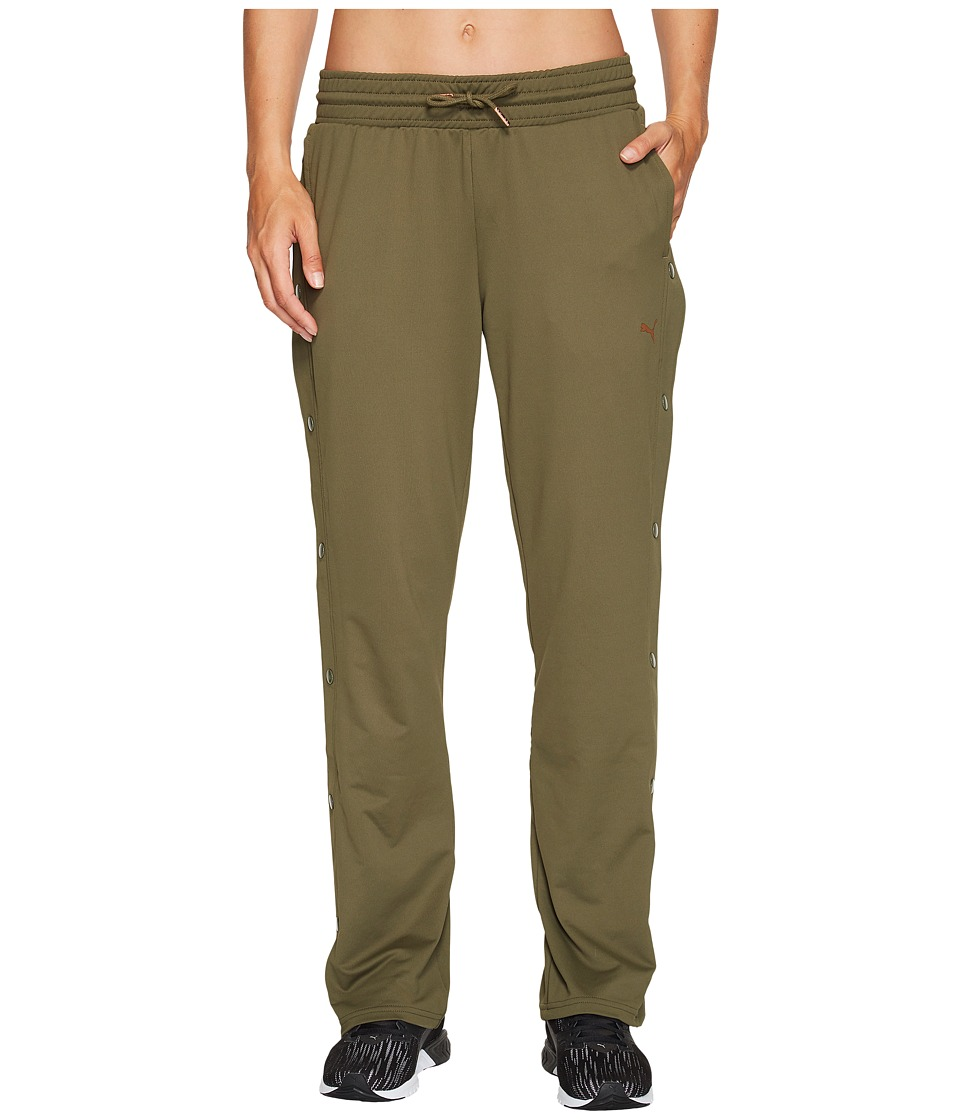 PUMA - Explosive Tear Away Pants (Olive Night) Women's Casual Pants