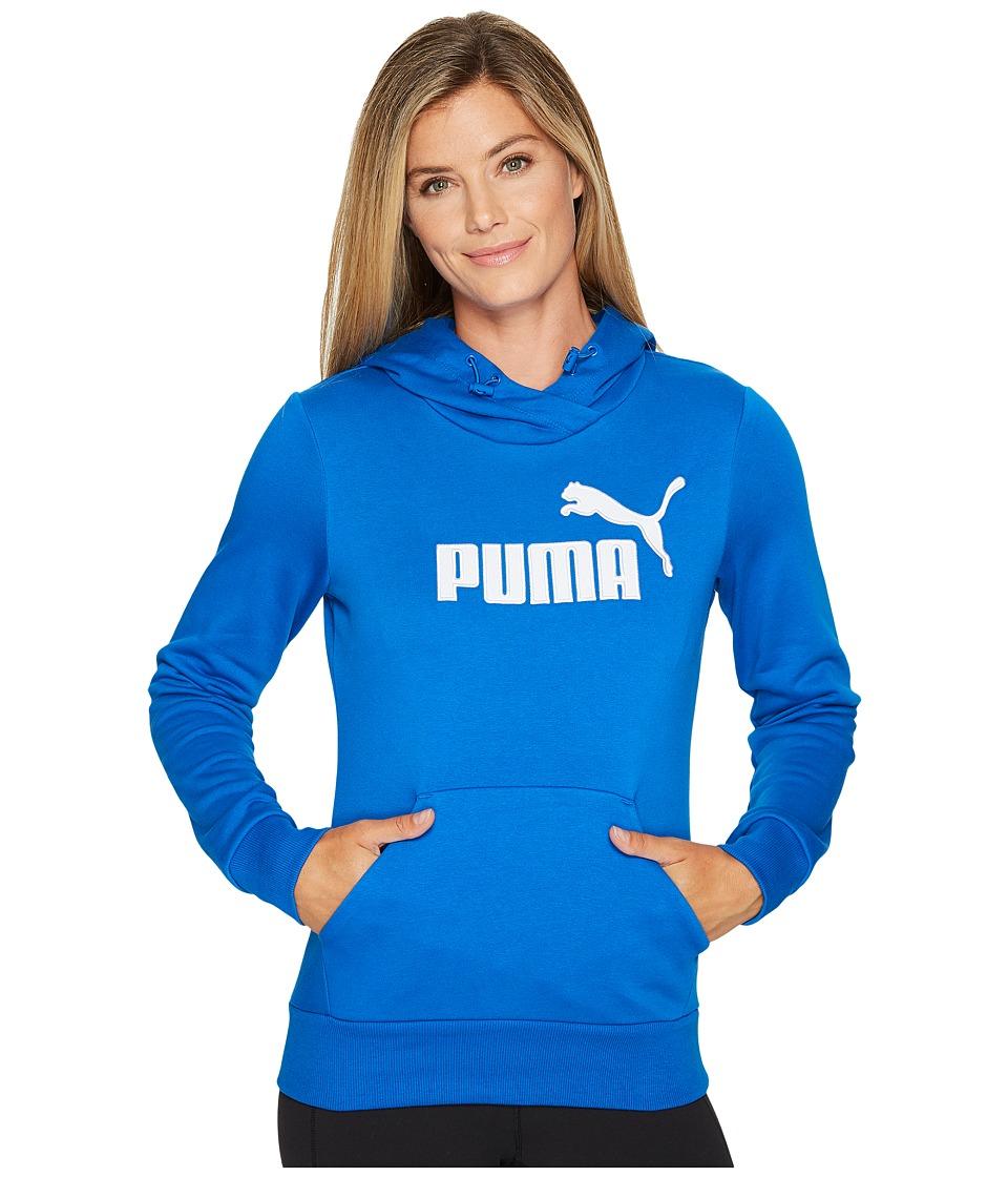 PUMA - Elevated Logo Hoodie (Lapis Blue) Women's Sweatshirt