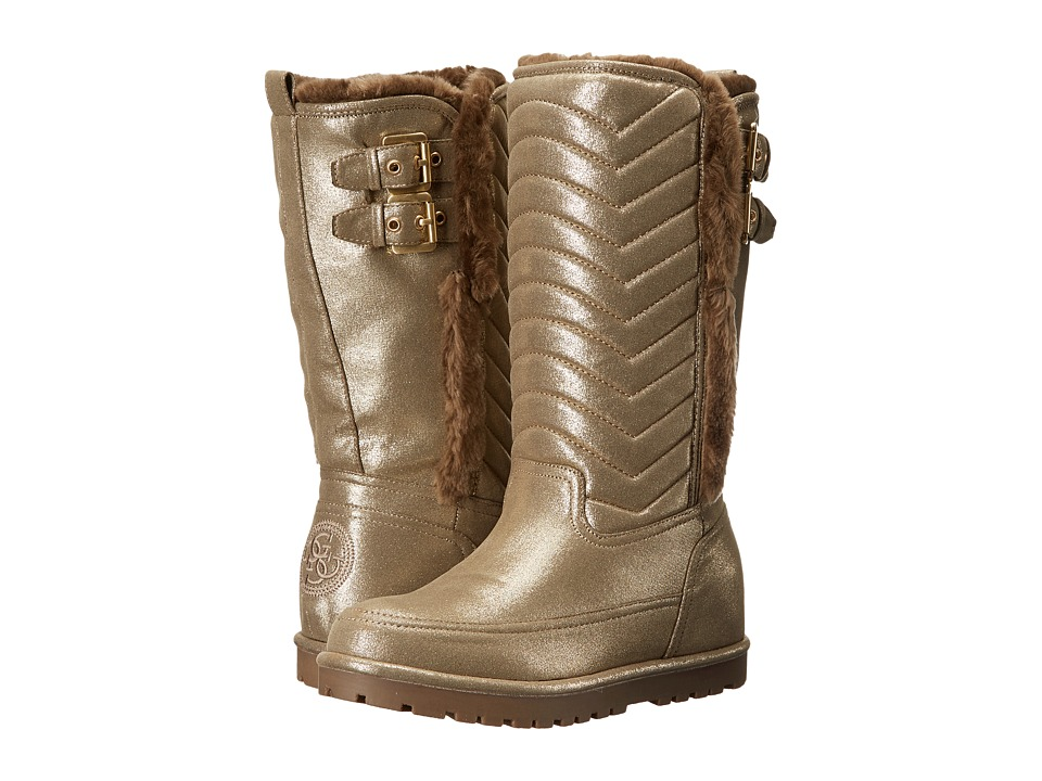GUESS - GWFerrah (Khaki) Women's Pull-on Boots