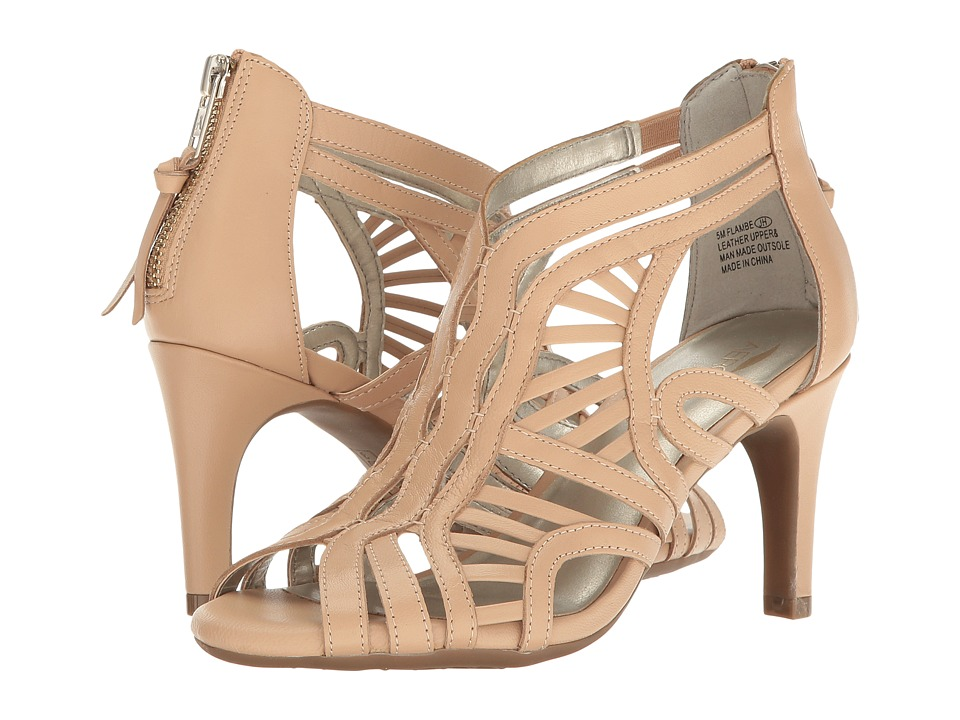 A2 by Aerosoles - Flambe (Light Tan Leather) High Heels