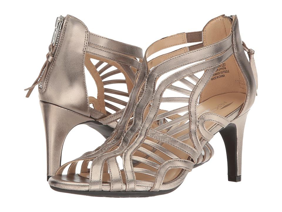 Aerosoles - Flambe (Dark Silver Leather) High Heels