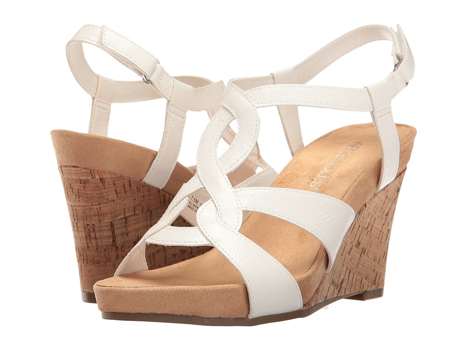 Aerosoles - Fabuplush (White) Women's Dress Sandals