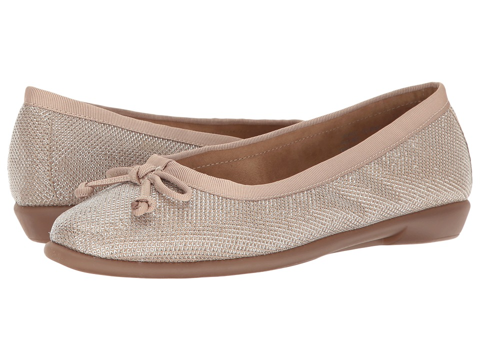 Aerosoles - Fast Bet (Champagne) Women's Flat Shoes