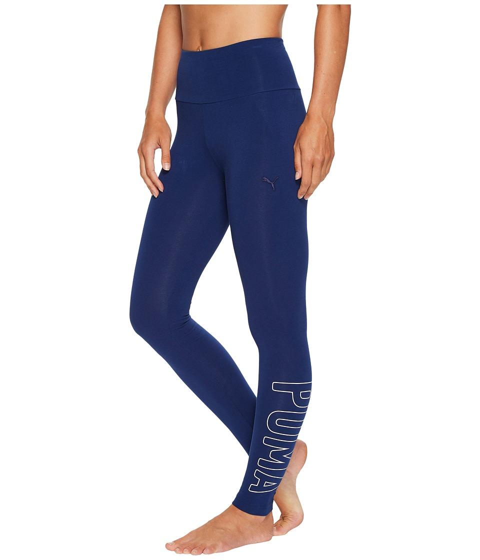 PUMA Athletic Leggings (Blue Depths) Women