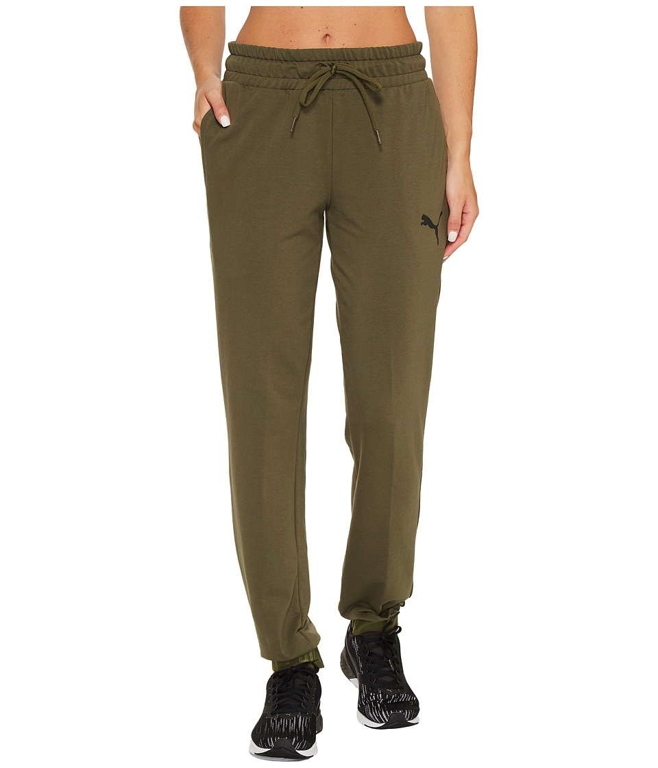 PUMA - Urban Sports Sweat Pants (Olive Night) Women's Casual Pants