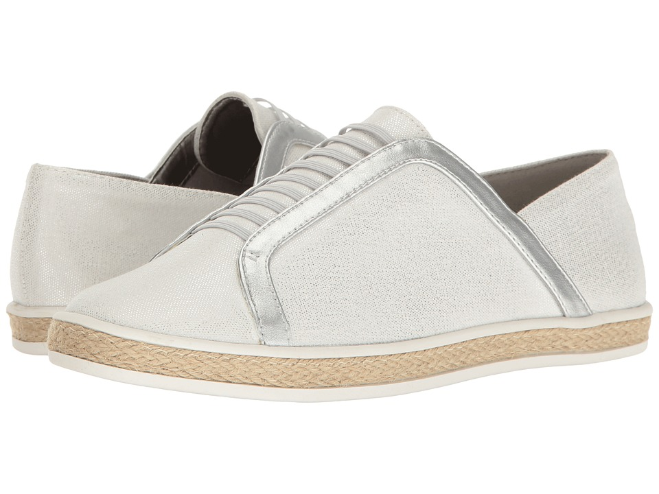 Aerosoles - Fun Town (White/Silver) Women's Lace up casual Shoes