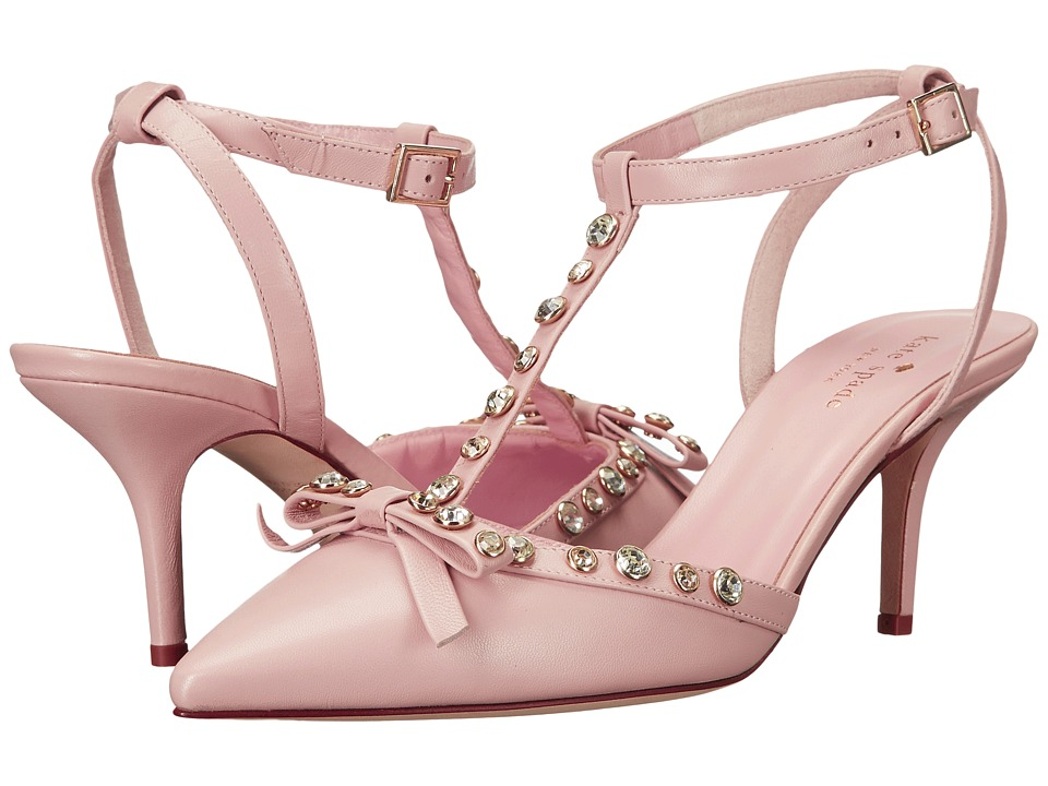 Kate Spade New York - Julianna (Petal Pink Nappa) Women's Flat Shoes