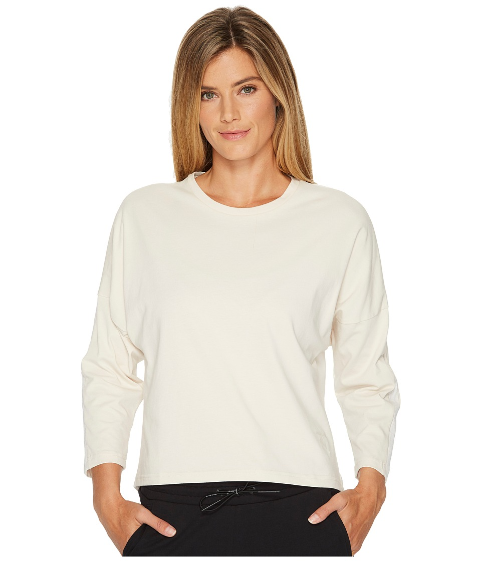 PUMA - Tape Long Sleeve Top (Birch) Women's Long Sleeve Pullover