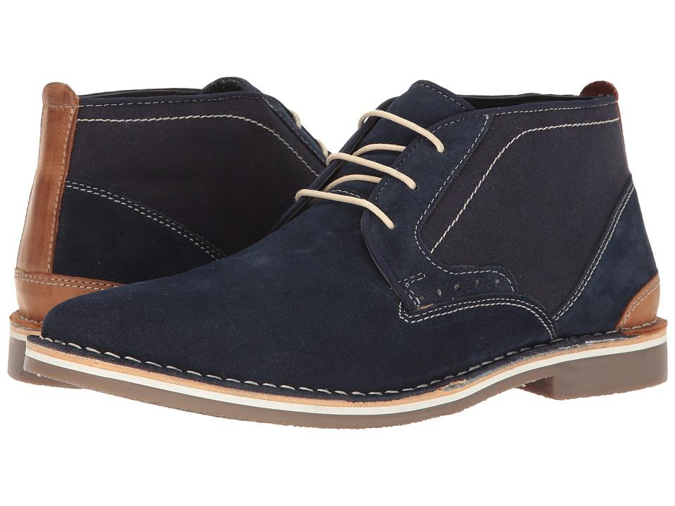 Steve Madden - Hotshot (Navy) Men's Boots