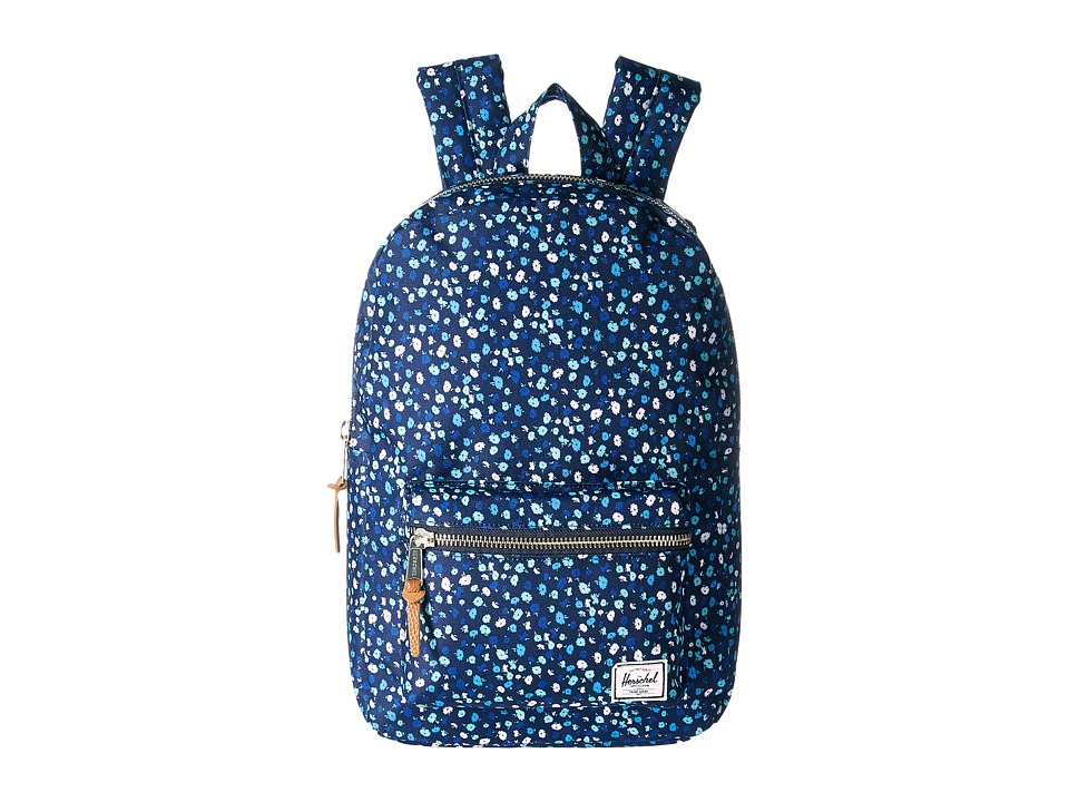 Herschel Supply Co. - Settlement Medium (Peacoat Mini Floral) Backpack Bags