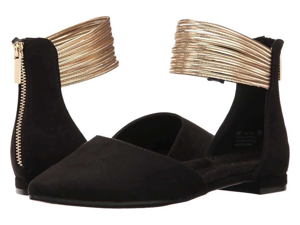 Aerosoles - Girl Talk (Black Combo) Women's Sling Back Shoes