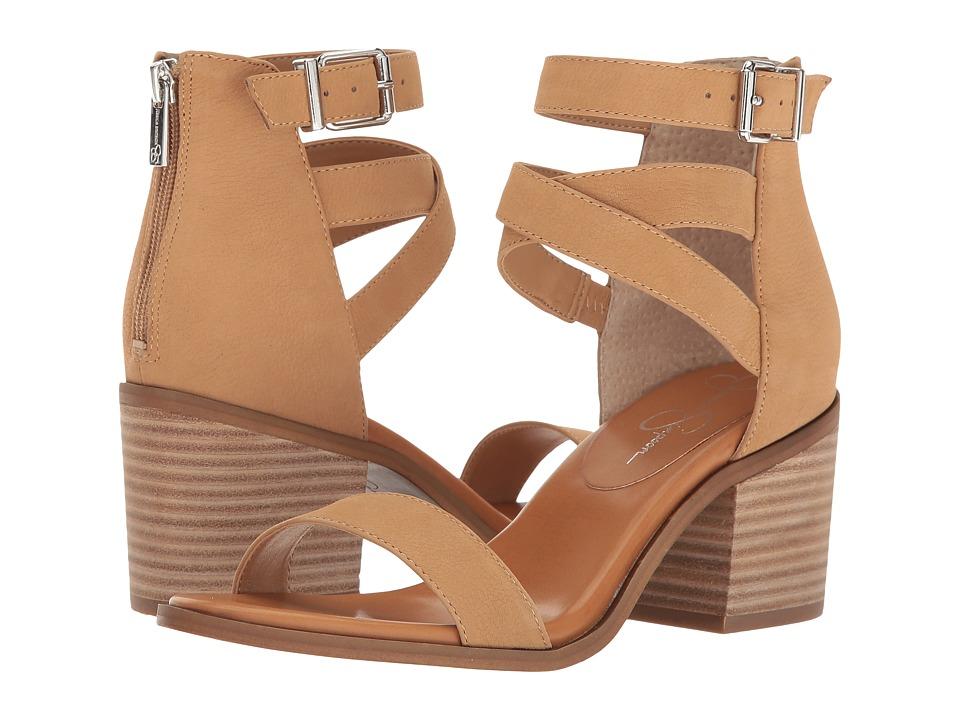 Jessica Simpson - Rayvena (Sand Castle M. Nubuck) Women's Shoes
