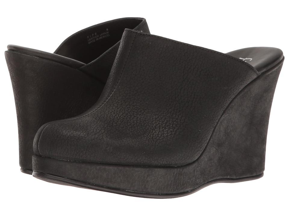 Cordani - Augustine (Black Calfskin) Women's Wedge Shoes
