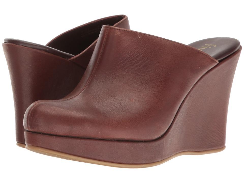 Cordani - Augustine (Brown Calfskin) Women's Wedge Shoes