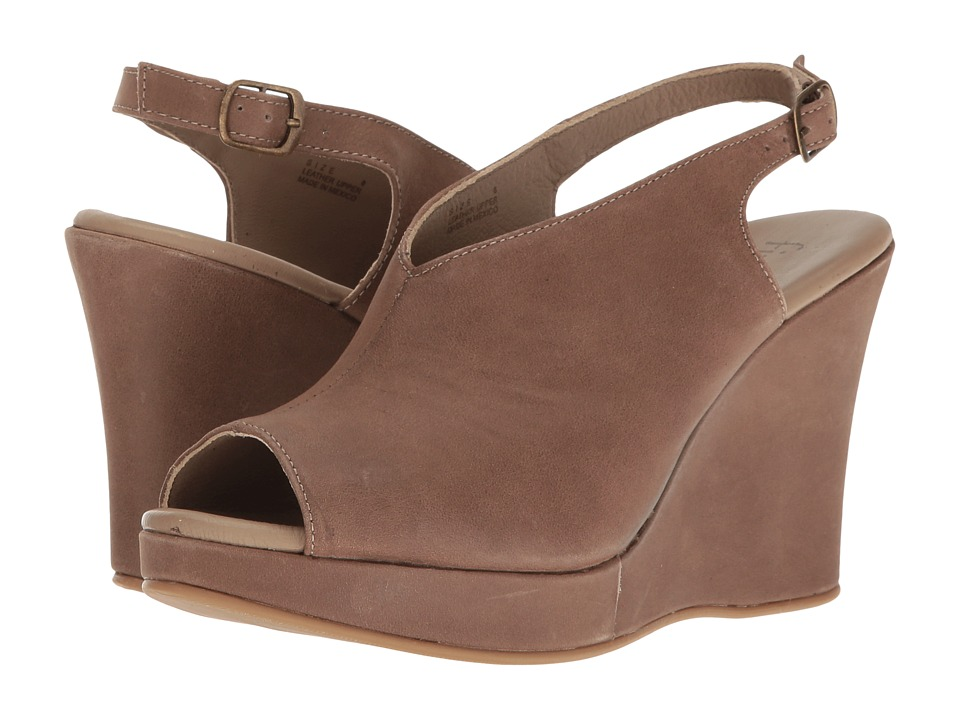 Cordani - Amiga (Taupe Calfskin) Women's Wedge Shoes
